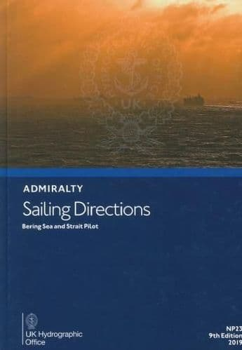 NP23 - Admiralty Sailing Directions: Bering Sea And Strait Pilot ( 9th Edition )